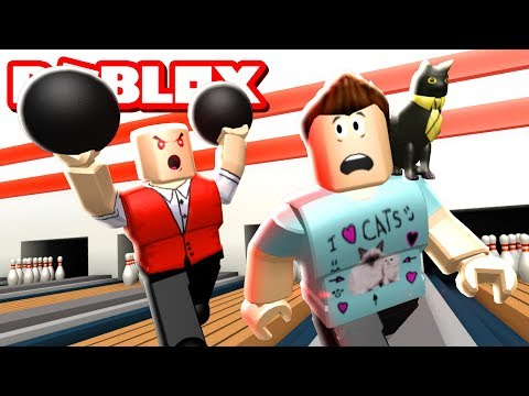 ESCAPE THE BOWLING ALLEY OBBY IN ROBLOX