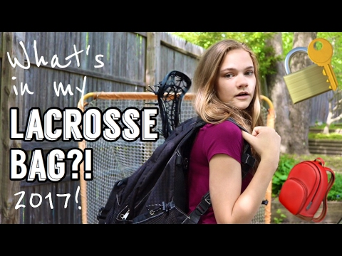 WHATS IN MY LACROSSE BAG 2017! | LaxGirlsWorld