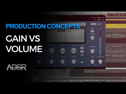 Gain vs Volume - Production Concepts
