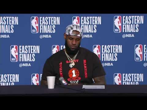 LeBron James Postgame Interview | Celtics vs Cavaliers Game 6