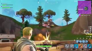 Fortnite - Only the minigun and the sniper can sort out this issue (with the legend crowblack7)