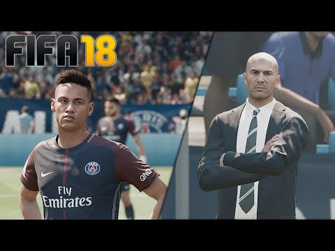 PROBANDO FIFA 18!! - REAL MADRID vs PSG | FIFA 18 DEMO PC