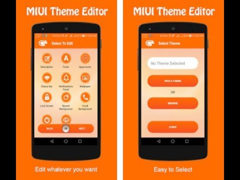 MIUI Theme Editor | Best Way To Install 3rd Party Theme