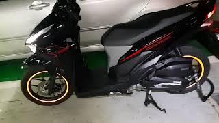 Honda 2019 click125 휠반사테잎 작업