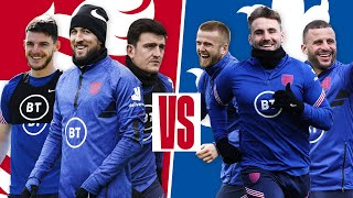 Last-Minute Winner In 3v3 Game 🔥 | Kane, Rice & Maguire v Shaw, Dier & Walker | Inside Training