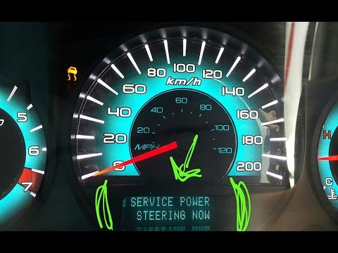Service Advancetrac Power Steering Now Ford Fusion V6