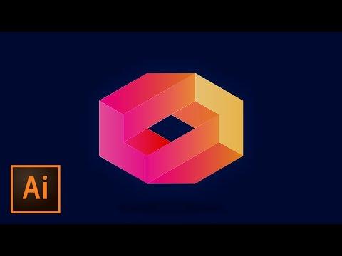 Create a 3D Logo | Illustrator Tutorial