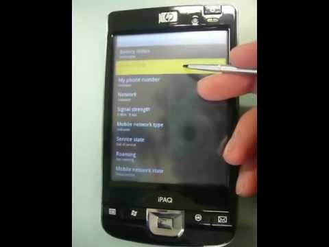 Android on iPAQ 212/214 (development showcase)