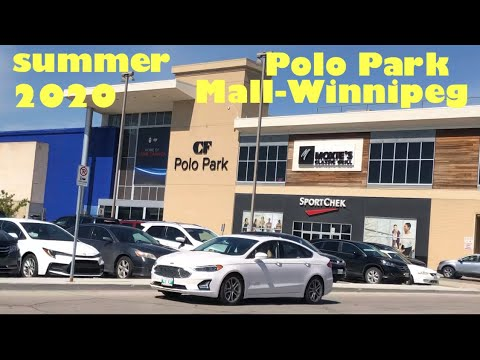Polo Park Mall Winnipeg Today, Summer-2020 | Winnipeg Manitoba Canada