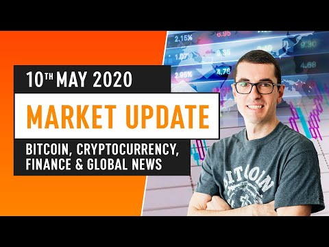 Bitcoin, Cryptocurrency, Finance & Global News – May 10th 2020