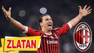 OFICIAL Zlatan Ibrahimović NUEVO JUGADOR DEL AC MILAN DE ITALIA SERIE A