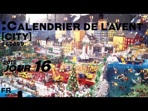 Calendrier Avent Lego City.Calendrier De L Avent Lego City Jour 16 2015 Francais