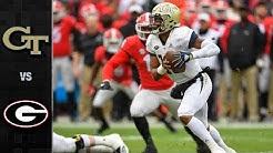 Georgia Tech vs. Georgia Football Highlights (2018)