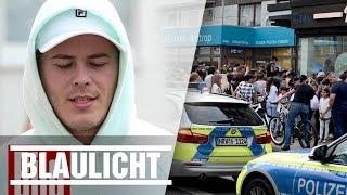Leon Machere sorgt für Polizei-Einsatz - Waffel-Shop in Bottrop eröffnet