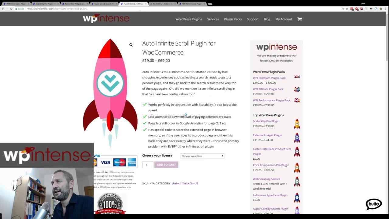 WP Intense - Scability Pro plugin