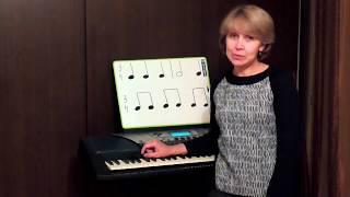 Музыкальный ритм. Ноты. Тренировка ритма. Как записывать ноты? Практика 2.