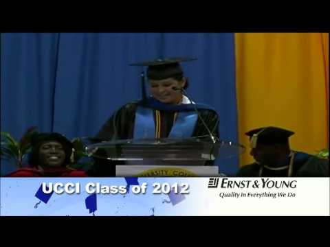 2012 UCCI Graduation Valedictorian Thais Ducent