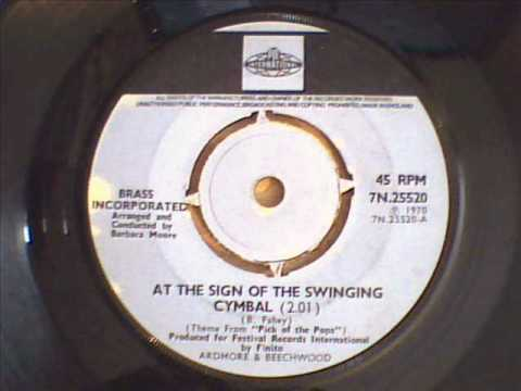 Sign of the swinging cymbals