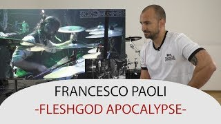 Drum Teacher Reacts to Francesco Paoli - Drummer of Fleshgod Apocalypse