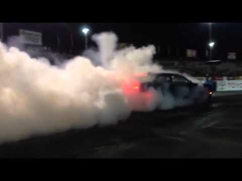 2015 dodge hellcat burnout at e town