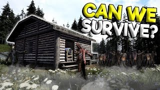SURVIVING A ZOMBIE ATTACK & BASE BUILDING! - Mist Survival Gameplay - New Zombie Apocalypse Game!