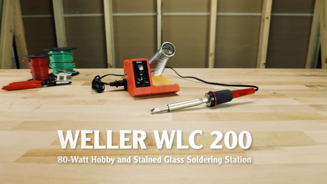 Weller WLC200 80 Watts Stained Glass Station