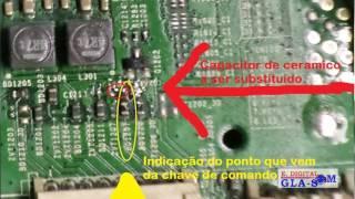 Tv SAMSUNG Passando canal pra ( - ) e Volume pra ( + ) - DICA GLA-SOM