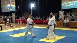 British Karate Kyokushinkai 8th Cup of Europe Artem Mikheev v Dimitriy Moisseyev