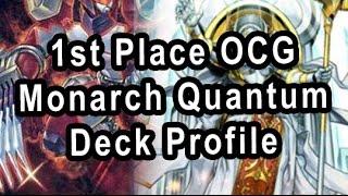 1st place ocg monarch quantum deck profile
