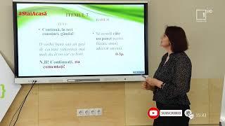 Pregăteşte-te de examene împreună cu Moldova 1 / Limba și literatura română (alolingvi) - clasa XII