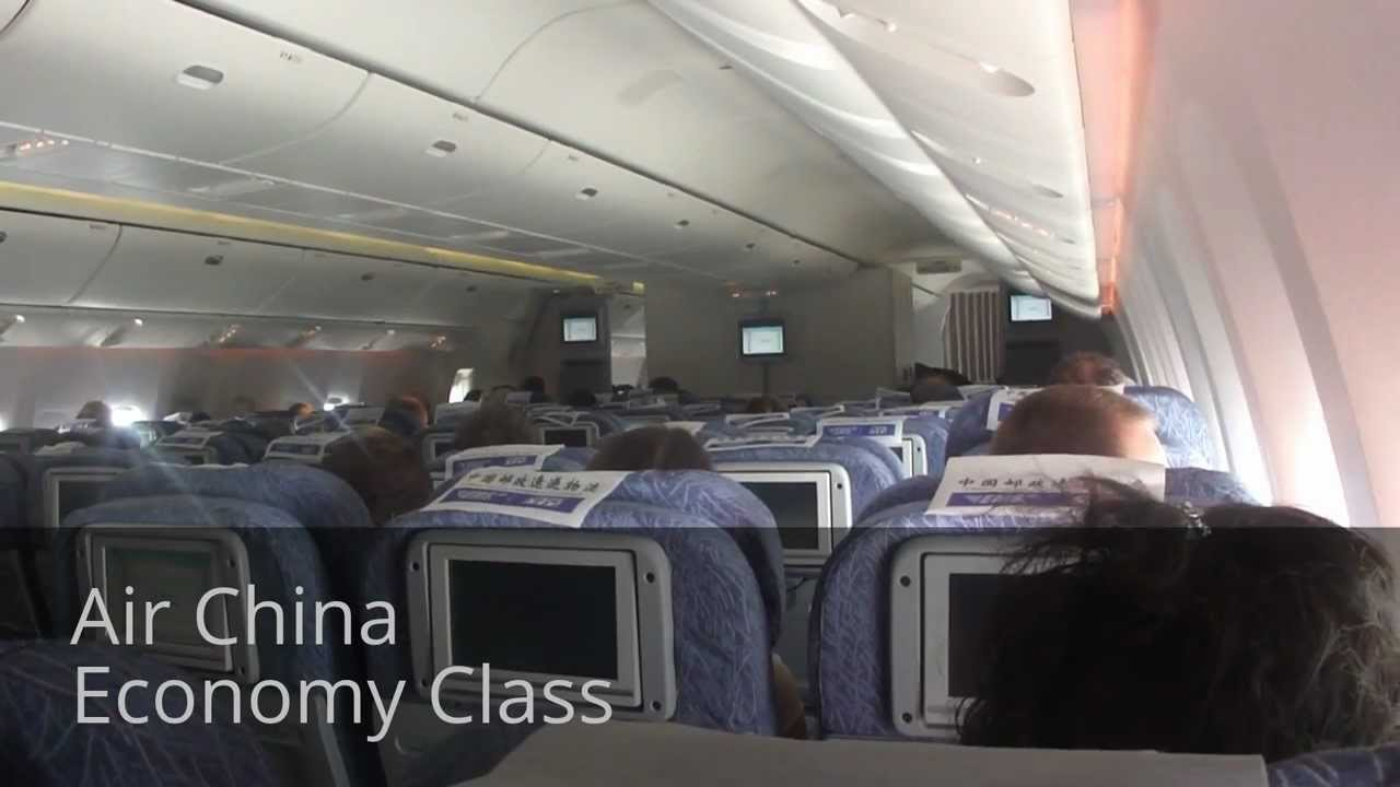 777 Interieur Inside Air China Boeing 777 300er