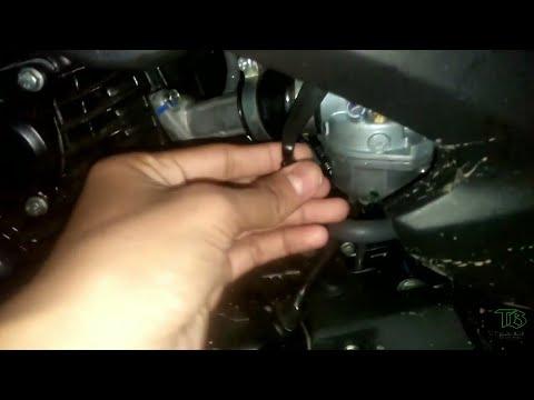 Honda Livo choke on off position
