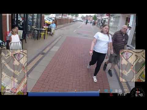Lichfield City Race 2018 (urban orienteering)