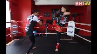 [KAPSUL BHTV] APA KES - Belajar Muay Thai, Janna mahu belasah orang?
