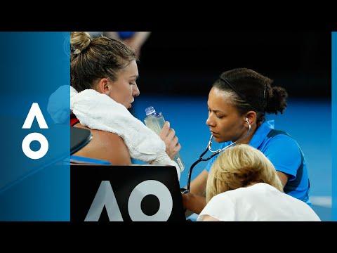 Blood pressure is rising, Halep seeks medical treatment   Australian Open 2018