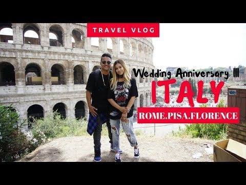 ANNIVERSARY TRIP III⎮ITALY TRAVEL VLOG ROME, PISA, & FLORENCE⎮ BALLAN IN STYLE