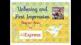 Diamond Painting Unboxing & First Impression - Rainbow Canaries - Dispaint Store