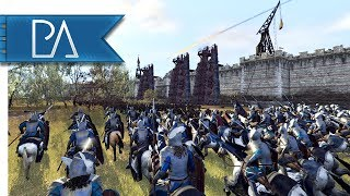 Epic Middle-earth Siege: Aragorn's Last Stand - Total War: Rise of Mordor Mod Gameplay