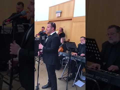 Mordy Weinstein Chuppah Singing 7/3/17