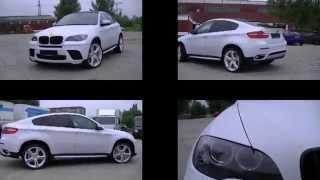 Carwrapping Carwrap Autofolierung Folierung BMW X 6 carbon weiss