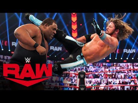 "Keith Lee vs. Riddle vs. AJ Styles – ""Sudden Death"" Triple Threat Match: Raw, Nov. 30, 2020"