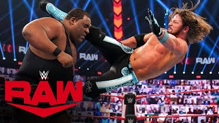 "Keith Lee vs. Riddle vs. AJ Styles – ""Sudden Death"" Triple Threat Match: Raw, Nov. 30, 2020"