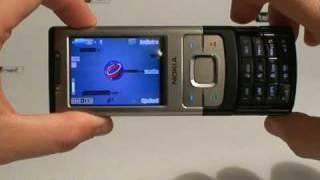 Videoprova Nokia 6500 slide