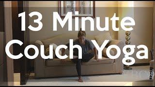 13 Minute Total Body Couch Yoga