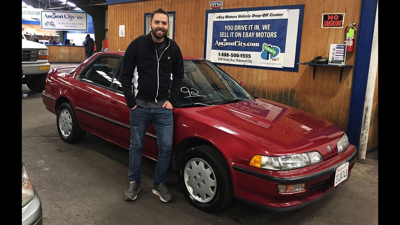 1992 Acura Integra LS Sedan 5 Speed My Torino Red Purchase Part 1
