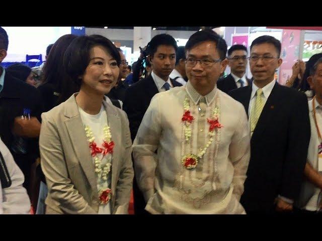 【央廣新聞】直擊2017菲律賓臺灣形象展開幕