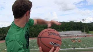 One of Brodie & Kelsey's most viewed videos: Brodie Smith's First Basketball Trick Shot