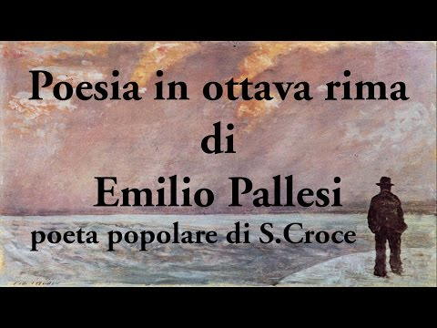 Marzio Matteoli, Poesia in ottava rima di Emilio Pallesi