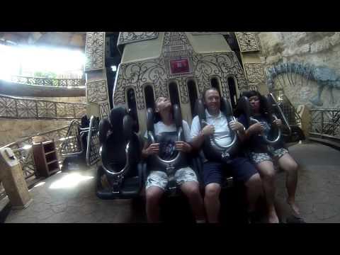 Pagoda's Revenge Off-ride Leofoo Village Theme Park Taiwan