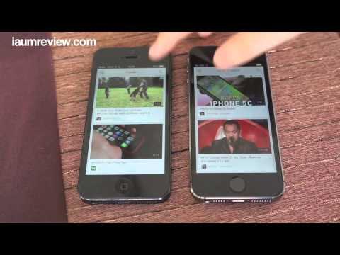รีวิว iPhone 5S แบบไทยไทย :EP2:  iPhone 5S VS iPhone 5